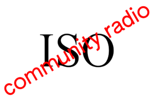 Logo of ISO community radio