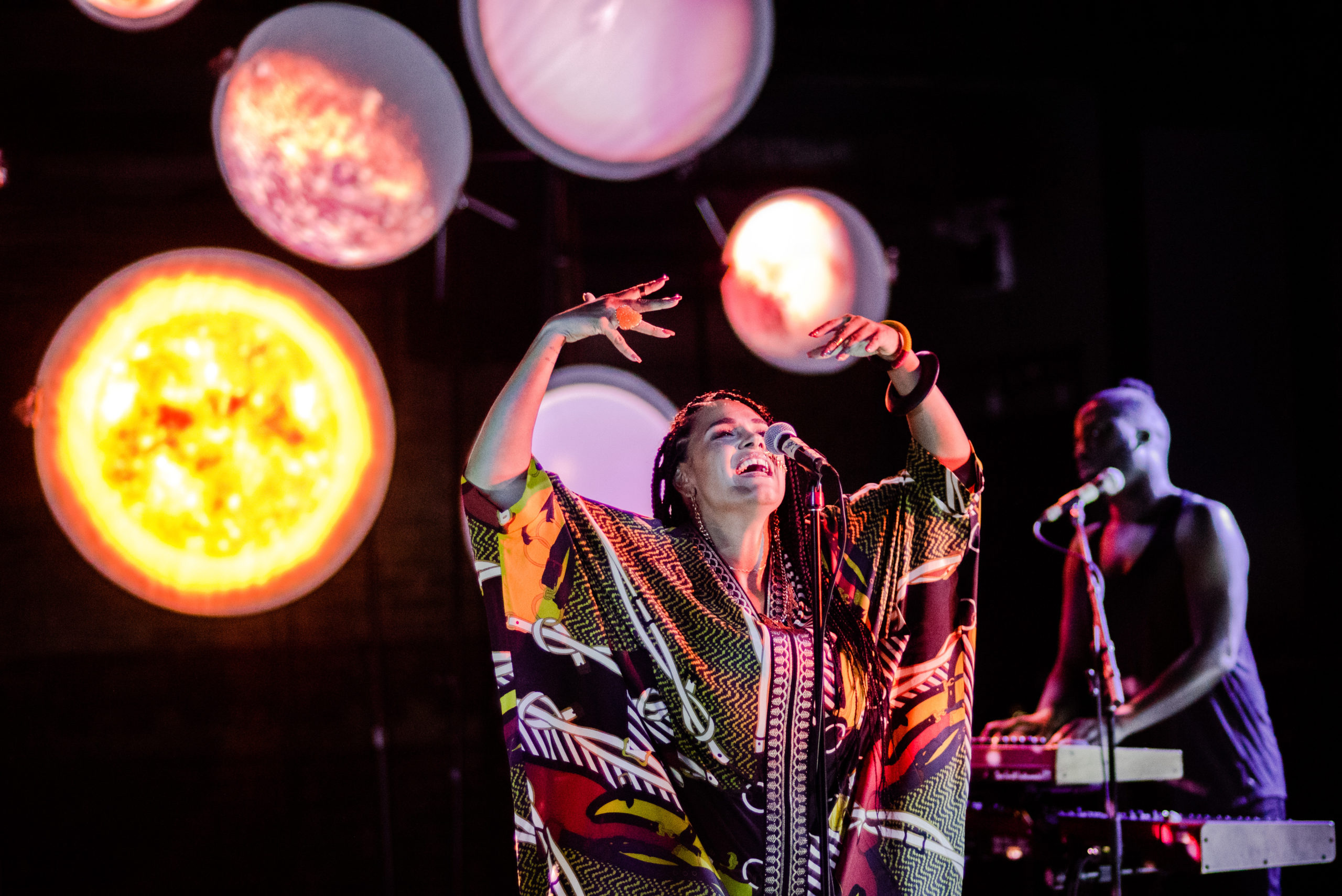 Image of Zaki Ibrahim performing at Guided by Starlight
