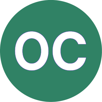 Image of Open Caption symbol is a green circle with white O and C letters.